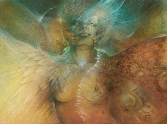 transcendence by Susan Seddon Boulet CORRECT TITLE art